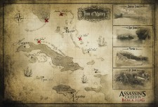 Assassin s creed IV black flag carte