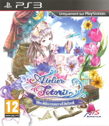atelier totori jaquette front cover