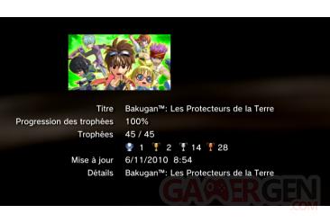 Bakugan les protecteurs de la terre trophees LISTE     1