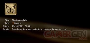 Battlefield 3 - Trophées - BRONZE 10