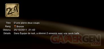 Battlefield 3 - Trophées - BRONZE 11