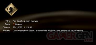 Battlefield 3 - Trophées - BRONZE 15