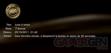 Battlefield 3 - Trophées - BRONZE 16