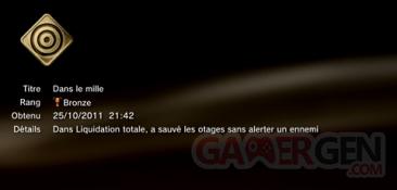 Battlefield 3 - Trophées - BRONZE 17