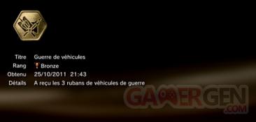 Battlefield 3 - Trophées - BRONZE 20