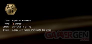 Battlefield 3 - Trophées - BRONZE 21