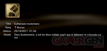 Battlefield 3 - Trophées - BRONZE 2