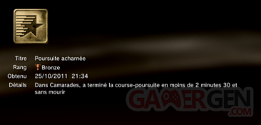 Battlefield 3 - Trophées - BRONZE 3
