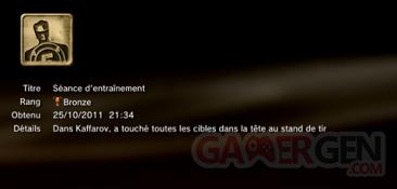 Battlefield 3 - Trophées - BRONZE 5