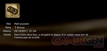 Battlefield 3 - Trophées - BRONZE 6