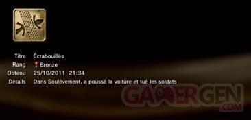 Battlefield 3 - Trophées - BRONZE 7