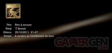 Battlefield 3 - Trophées - MASQUES 2