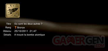 Battlefield 3 - Trophées - MASQUES 5