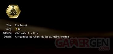 Battlefield 3 - Trophées - OR 3