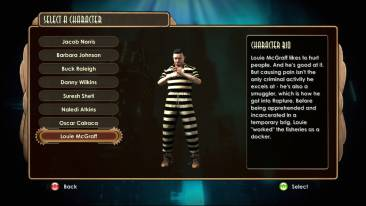 Bioshock_2_DLC1_Sinclair Solutions Test Pack_louie_menu