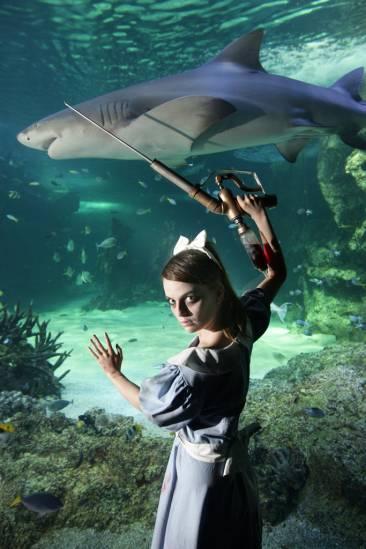BIOSHOCK Cosplay Aquarium 1