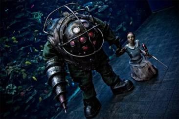 BIOSHOCK Cosplay Aquarium 7