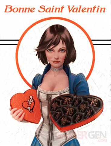 BioShock Infinite Saint Valentin