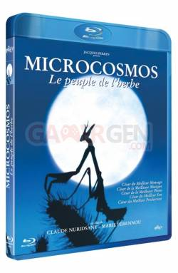 blu-ray jaquette microcosmos