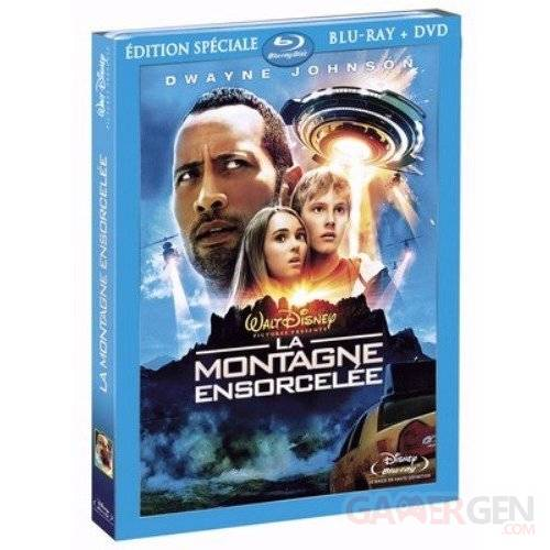 blu-ray jaquette montagne ensorcelee