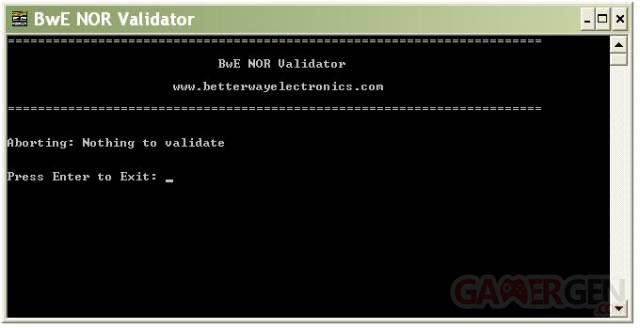BwE NOR Validator Public HTML Edition v1.02