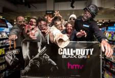 Call of Duty Black Ops II Lancement Londres HMV 5