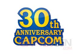 Capcom Logo 30 ans