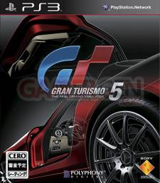 Couverture Covers Nippone Japonaise PS3 Gran Turismo 5