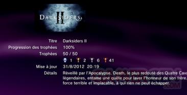 DarkSiders II - Trophées - LISTE -  1