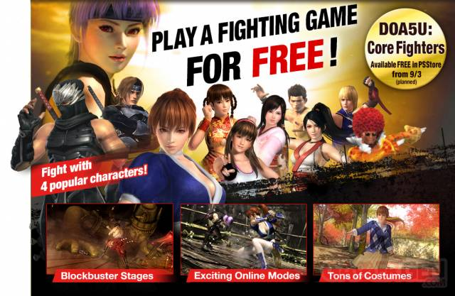 Dead or Alive 5 Ultimate core fighters 2