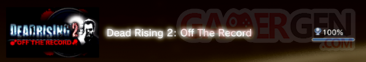 Dead Rising 2 - Off the record - Trophées - FULL 1