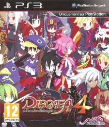 disgaea 4 jaquette front cover