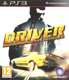 driver jaquette front cover