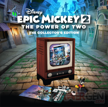 Epic Mickey 2 collector europe