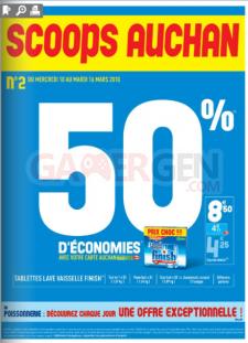 erreur PS3 xbox par Auchan catalogue auchan 3