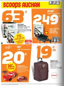 erreur PS3 xbox par Auchan catalogue auchan