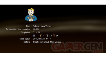 Fallout new vegas trophees LISTE PS3 01
