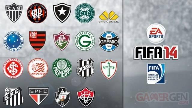FIFA 14 club Brésil