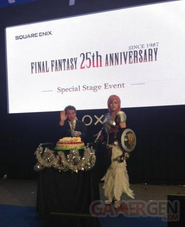 Final Fantasy 25 ans événement hong kong