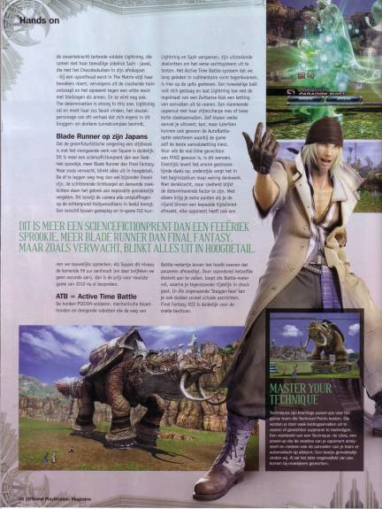 Final Fantasy XIII Scans opsm6