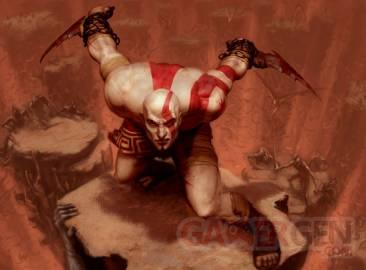 God of War Kratos bleu 3