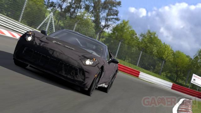 Gran Turismo 5 Corvette C7 Test Prototype DLC 1