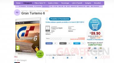 Gran Turismo 6 rumeur sortie