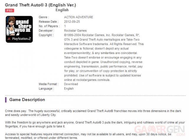 Grand Theft Auto 3 19.09.2012.