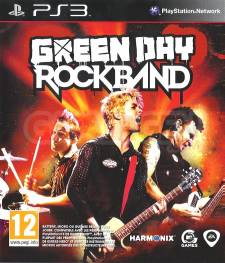 green day rock band jaquette front cover