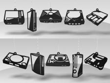Guirlandes-consoles