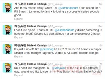 Hideki Kamiya tweet 2