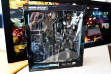 Hideo Kojima figurine ninja cyborg konami square enix  05