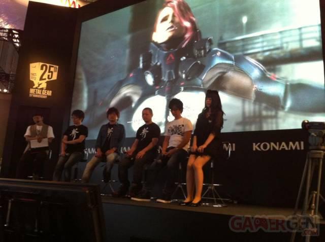 Hideo Kojima Tokyo Game Show