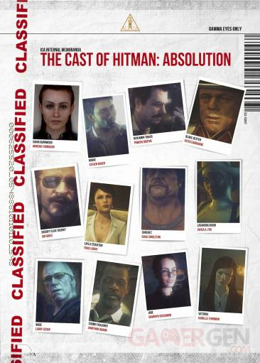 Hitman absolution casting